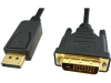 15' DisplayPort Male to DVI-D Dual Male Cable -- 184047