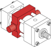Series A Pneumatic Cylinder - Model A73 NFPA Style MT4 -- Center Trunnion Mount - Image