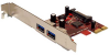 2 Port USB 3.0 PCI Express-II with 15pin SATA Power Connector -- 3305-SF-04