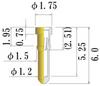 Small Size Socket Pin -- JS0062-GG-856 -Image