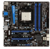 MSI A75MA-G55 AMD A Series Socket FM1 Motherboard and AMD Qu -- A75MA-G55 Bundle