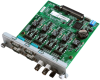 4-port isolated RS-232/422/485 -- UNOP-1624D - Image