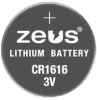 Batteries Non-Rechargeable (Primary) -- 2059-CR1616-ND - Image