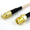 MCX Plug to SMA Female Cable RG-316 Coax in 36 Inch -- FMC0713316-36 -Image