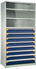 Shelving with Modular Drawers, 8 Drawers (48