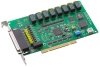 8-ch Relay and 8-ch Isolated Digital Input Universal PCI Card with 8-ch Counter/Timer -- PCI-1760U