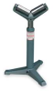 Roller Stand,V Style,H to 38 1/2 In -- 2PYL3