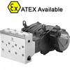 High Pressure, Triplex Plunger Pump, Solid Shaft -- MWN32A - Image
