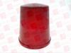 EMERSON VPGL1RE ( GLOBE PRISMATIC RED 100 WATT ) -- View Larger Image