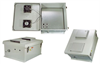 18x16x8 Inch Weatherproof Enclosure with 802.3af PoE Compatible Solid State Fan Controller -- NB181608-40FSAF -Image
