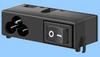 2.5A Class I Module: IEC 60320 C6 & Switch -- 83016310 -Image