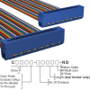 Rectangular Cable Assemblies -- C3EES-4018M-ND -- View Larger Image