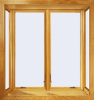 400 Series 90° Casement Box Bay Windows