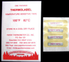 TESTING AND SAFETY, TEMPERATURE LABELS, THERMOLABELS -- 10-180P