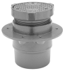 """Z1400-K """"Level-Trol"""" Adjustable Floor Cleanout with Anchor Flange -- Z1400-K"""