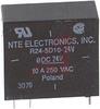 Relay;E-Mech;Power;SPDT;Cur-Rtg 10A;Ctrl-V 24DC;Vol-Rtg 380AC;PCB Mnt;Solder -- 70011908