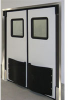 Double Acting Impact Traffic Doors -- Durulite Retailer XHD Traffic Door