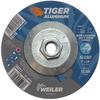 5 x 1/8 TIGER ALUMINUM Type 27 Cut/Grind Combo Wheel ALU30T 5/8-11 Nut -- 58218 - Image