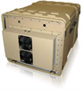 Composite/Fiberglass Air Conditioned Rack Case -- Defender Series -- View Larger Image