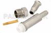 FME Jack Connector Crimp/Solder Attachment For RG174, RG316, RG188 -- PE44148 - Image