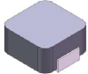 0.1uH, 20%, 5mOhm, 35Amp Max. SMD Molded Inductor -- HM1605-R10M -- View Larger Image