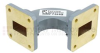 WR-75 Waveguide H-Bend Commercial Grade Using UBR120 Flange With a 10 GHz to 15 GHz Frequency Range -- SMF75HB -Image
