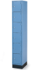 LYON High Design Series 6-Tier Lockers -- 7834300
