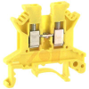 UK 2.5 N Yellow IEC Screw Clamp Terminal Block - 30-12 AWG -- 70169352