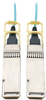 QSFP28 to QSFP28 Active Optical Cable - 100GbE, AOC, M/M, Aqua, 30 m (98.4 ft.) -- N28H-30M-AQ