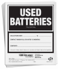Used Batteries Label -- SGN242