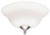 Frosted Opal Bowl Light Kit -- 22327