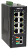 10BASE-T/100BASE-TX Hardened Ethernet Extender Switch, 8-Port -- LB308A - Image