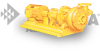 Horizontal One Stage Solids-Handling Pump -- Model 651 -- View Larger Image