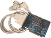 PCI 4-Port RS-422, RS-485 Serial Interface -- 7402