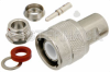 C Male Connector Clamp/Solder Attachment for RG59, RG62, RG71 -- PE4952 -Image