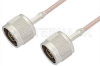 N Male to N Male Cable 24 Inch Length Using RG316 Coax -- PE3487-24 -Image