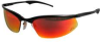 3M OCC Safety Glasses Black Frame, Red Mirror Lens -- Model# 93202-80025