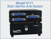 RJ21/50-Pin A/B Switch, Desktop, Manual Operation -- Model 9171 -Image