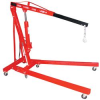 Air / Hand Pump Hydraulic Shop Crane: Folded Size: 33 1/2