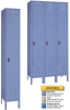 Steel Single Tier Lockers -- JS5100