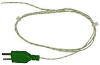 Type K Thermocouple (Exposed wire, fibreglass insulated)