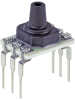 Basic ABP Series, Compensated/Amplified, gage, DIP LN: single axial barbless port, dry gases only, no diagnostics, 0 mbar to 100 mbar, digital I²C address: 0x28, no temperature output, no sleep m -- ABPDLNN100MG2A3 -Image