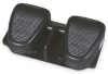Foot Switch,Two Pedal,Black,Cast Iron -- 1AGP3