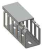 Cable Duct - Screw Mount, Slotted -- SRWD-1515