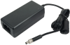 100-240VAC to 12 VDC @ 4A, Desktop Power Supply w/ Locking Connector (Choose Power Cord) -- TR132 - Image