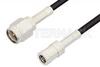 SMA Male to SMB Plug Cable 36 Inch Length Using RG174 Coax, RoHS -- PE3908LF-36 -Image