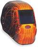 Weld Helmet,Wire Burner,Shade 9-13 ADF -- 2XKY6
