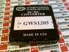 CONVERTER DC/DC 12V .5AMP -- GWS1205