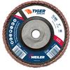 5 Tiger Angled (Radial) Ceramic Flap Disc 80C 5/8-11 Nut