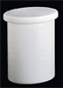 Cylidrical Tank with Cover and Spigot, HDPE, 55 Gal., 1/4